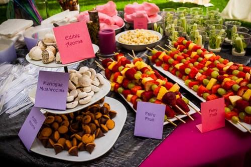 Fairy Food table