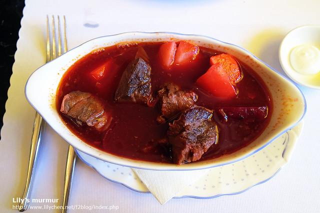 我的俄式羅宋湯!湯頭超好喝,我一喝便停不下來了。