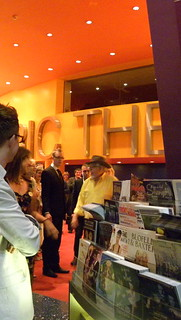 Here he comes at last; Rolf Harris at the Lowry