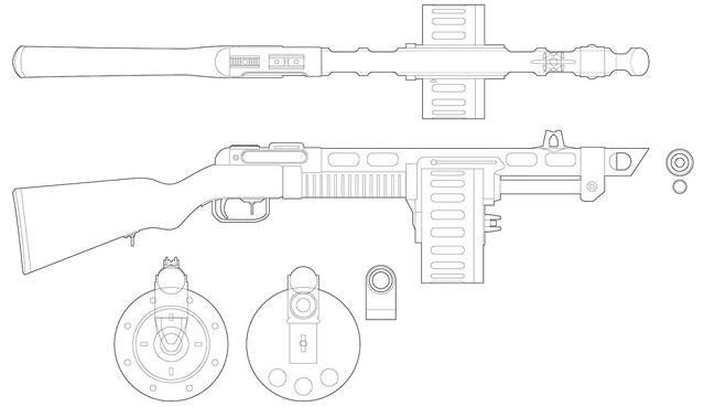 Volpin Props: Combat Shotgun, Fallout