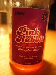 Pink Rabbit '10 – Nicolas Testard, Beaujolais.