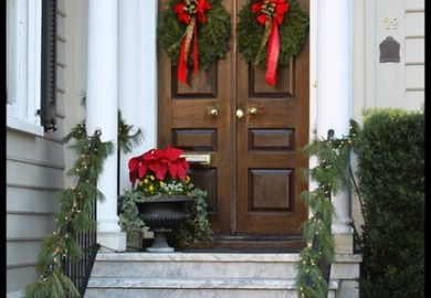 Christmas Home Tours Charleston Sc