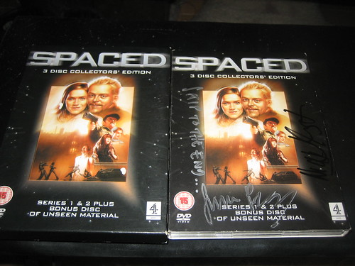 20120805 - autographed Spaced DVD - IMG_4804