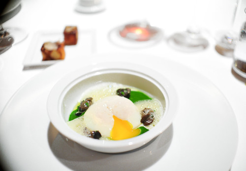 6th Course: Coddled Egg