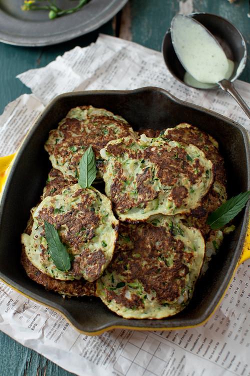 Zucchini Pancakes 1