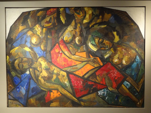 Pietà (The Lamentation). (1921).
