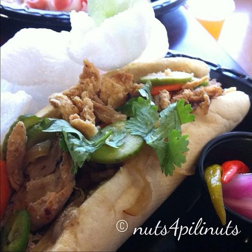 Chicken Adobo Banh Mi | Flip Night @thepointfeedsme #thepointfeedsme #filipinofood