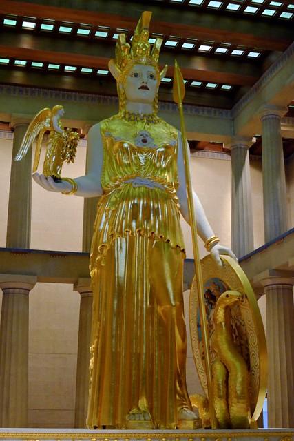 Athena in the Parthenon