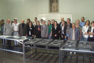 Rotarians with Kitchen Equipment