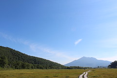尾瀬ヶ原から燧ヶ岳を望む