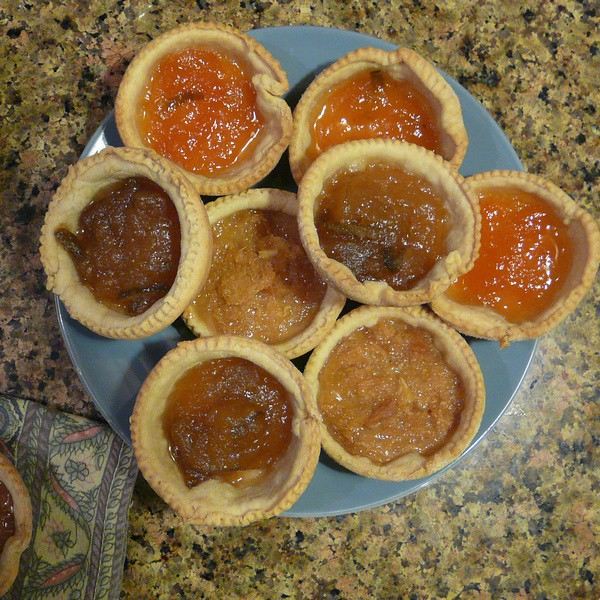 Jam and Treacle Tarts