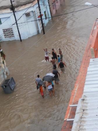 Inundacion Ciudad Habana