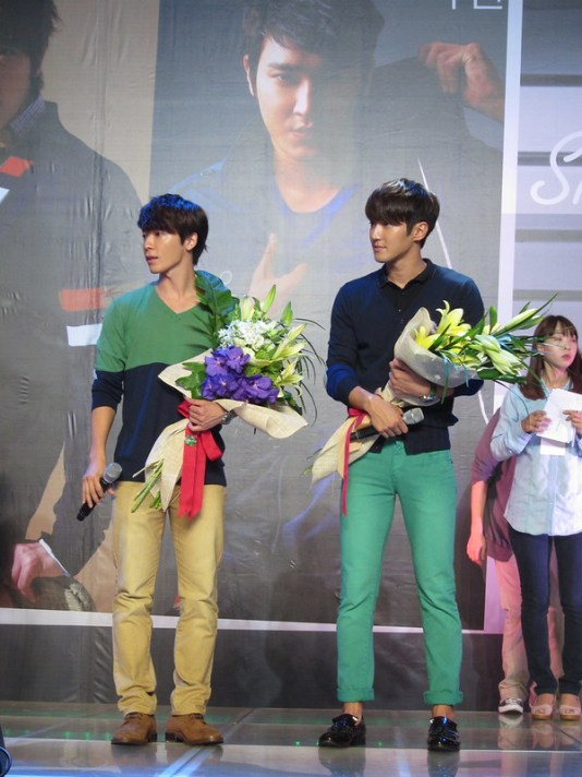 Dong Hae and Si Won for Bench