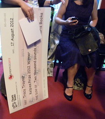 Winner's cheque