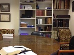 Studying in Rector's Old Office