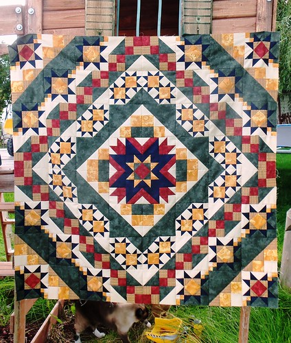 Patsy's Mysterious Mystery Quilt! by ruthiequilts