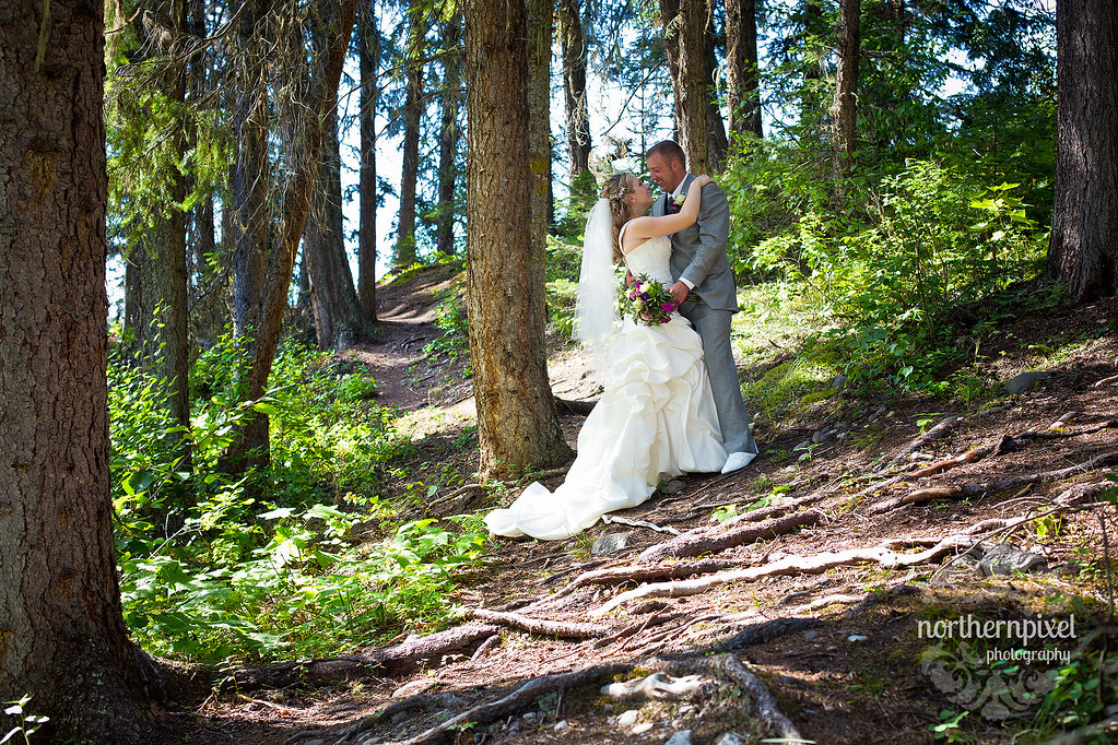 Newlywed Photos - Berman Lake