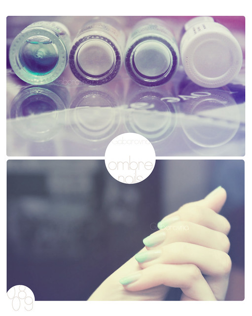 ombre nails - 0809