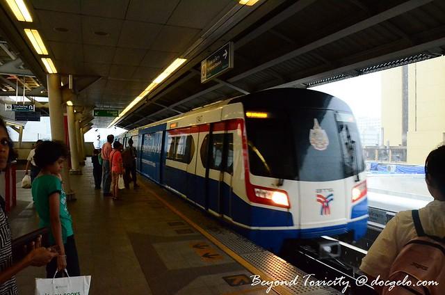 bts train bangkok