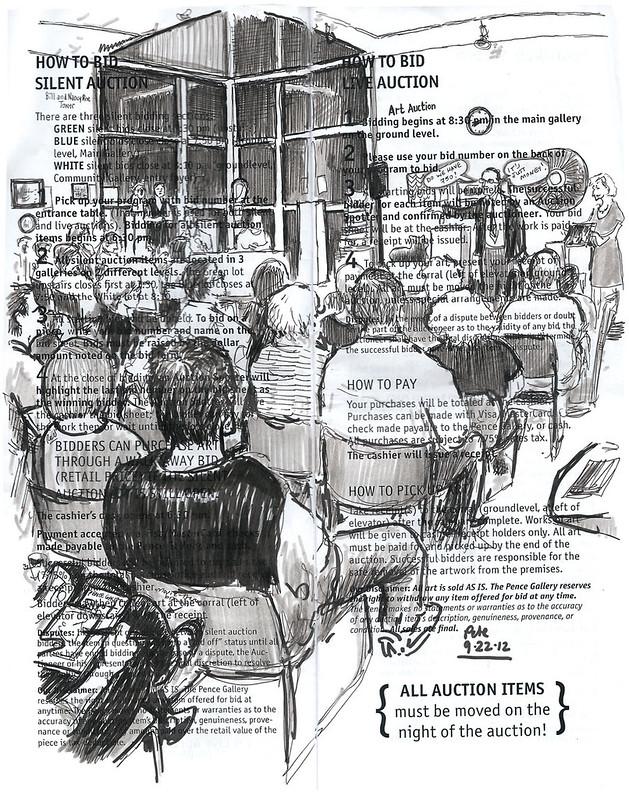 pence art auction 2012