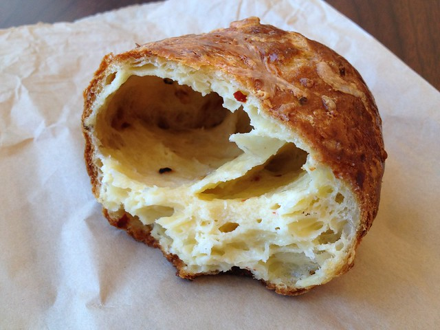 Smoked cheddar gougere - Craftsman & Wolves