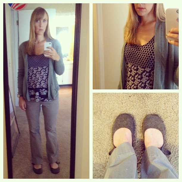 Orientation Day (aka I desperately need a new pair of grey flats)