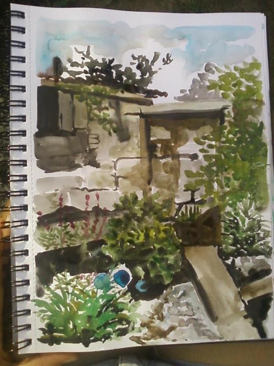 watercolour Journal