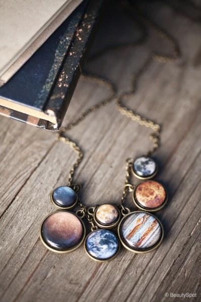 Solar System necklace by BeautySpot
