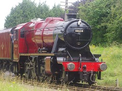(4)8624, Stanier 8F, Quorn & Woodhouse, 8th July 2012