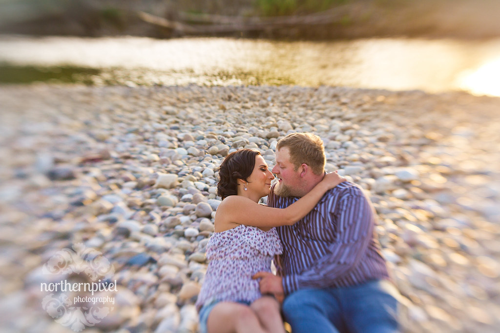 Tawnie & Wade - Engagement Prince George, BC