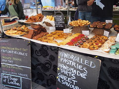 Saint Sugar of London. Venn Street Market, Clapham Common