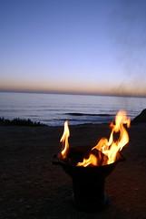 Cliff Picninc Sunset