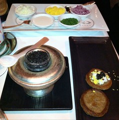Caviar and All the Fixins at Gary Danko
