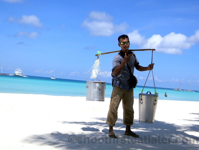 taho on the beach