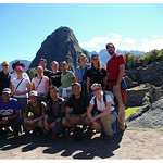 Our trek group at Machu Picchu