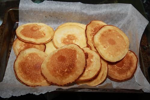 Step 1: Miniature Pancakes