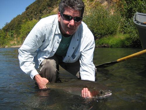 Fall is steelhead time deschutes river willamette river for Willamette river fishing report