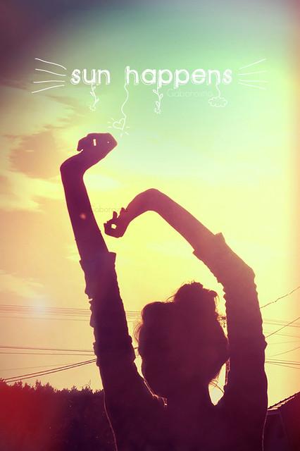 sun happens