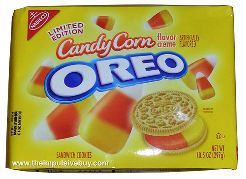 Nabisco Limited Edition Candy Corn Oreo