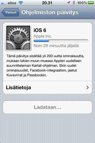 iOS6 Update OTA