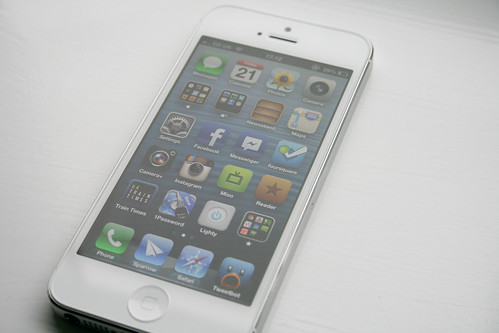 iPhone 5 - Home Screen