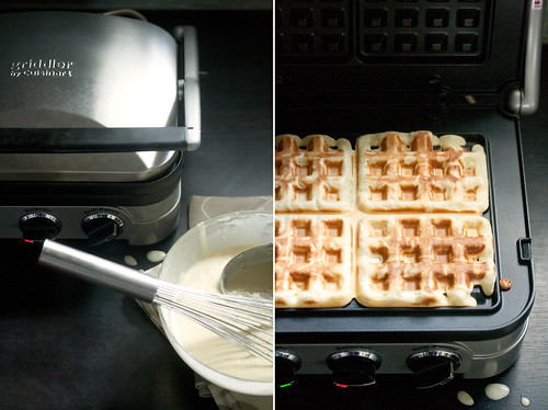 Making Waffles on the Griddler
