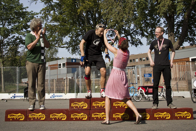 Svajerløb 2012 - 3Wheeler Medal Ceremony