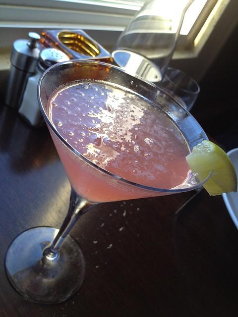 Ginger martini - Eureka Restaurant and Lounge