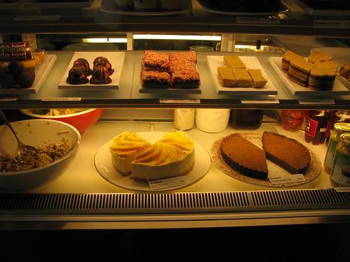 desserts cabinet