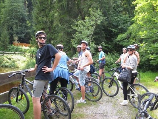 Bike Ride - Hofgarten, Austria
