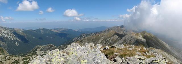 Culmea Custura-Gruniu - panoramă