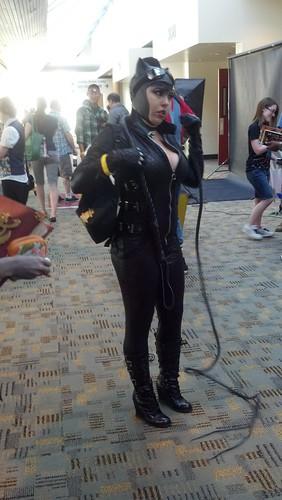 Catwoman at Baltimore Comic-Con 2012