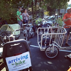 The start of the Cargo Bike Roll Call.
