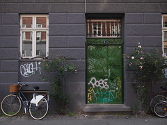 Bicycles and Graffiti in Copenhagen